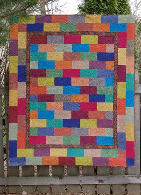 Hedgehog Quilts Gallery : brick quilt - Adamdwight.com